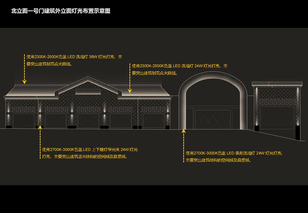 长春远洋·王府井赛特奥莱项目夜景照明设计方案