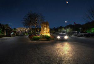 安徽黄山西递牌楼广场照明夜景观设计方案