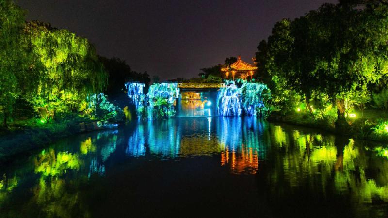 江苏扬州瘦西湖夜游25日开启