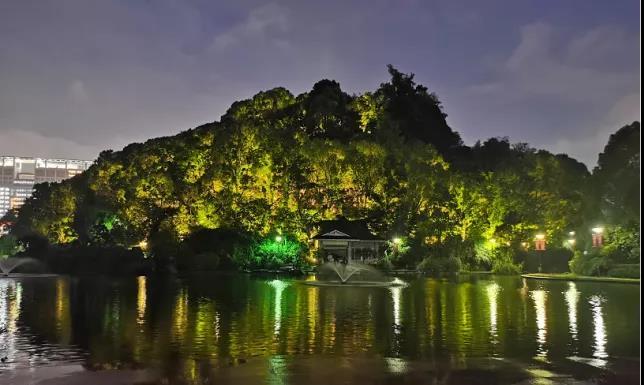 中国十大公园夜景照明工程