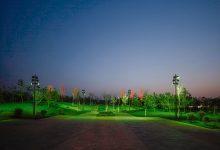 安阳市汤河景观环线工程夜景实拍一(2021.05月10日)